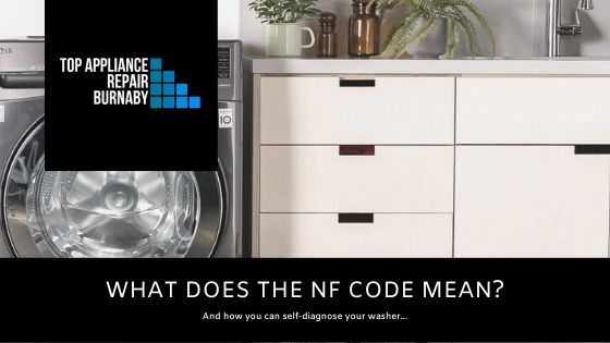 what does the NF code mean on your washer