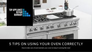 Our top 5 tips on using your oven correctly.